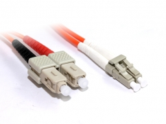 10M LC-SC OM2 50/125 Multimode Duplex Fibre Optic Cable