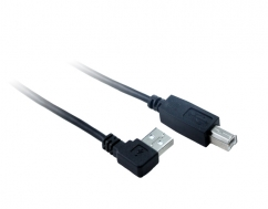 2M USB 2.0 Right Angle AM To BM Cable