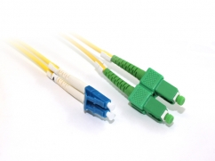 5M OS1 Singlemode LC-SCA Fibre Optic Cable