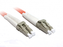 30M LC-LC OM1 Multimode Duplex Fibre Optic Cable