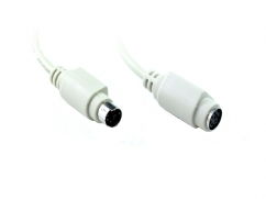 2M PS/2 M-F Extension Cable