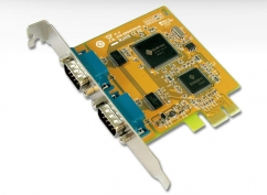 PCI Express 2 Port Serial Card