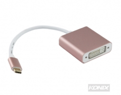 USB 3.1 Type-C to DVI Adaptor