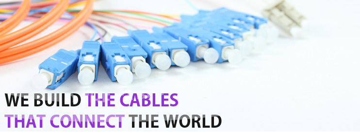 We buld The Cables That Connect The World